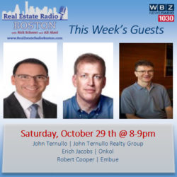 Real Estate Radio Boston – with your hosts Rick Scherer and